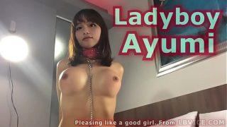 Ladyboy Ayumi Gives Blowjob